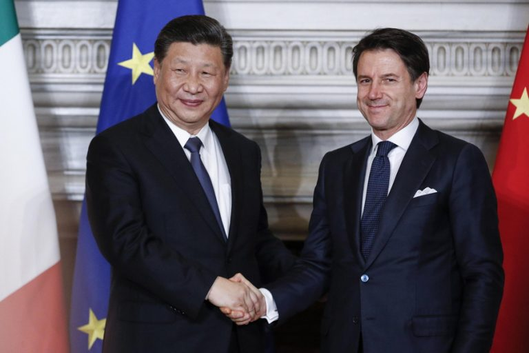 Στον χρυσοφόρο κινεζικό «δρόμο του μεταξιού» μπήκε η Ιταλία