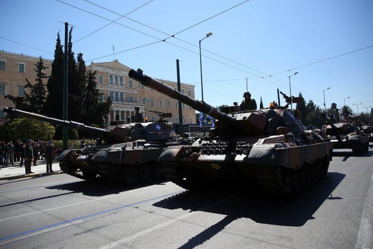 Ολοκληρώθηκε η στρατιωτική παρέλαση στην Αθήνα – Επεισόδια στην Καλλιθέα