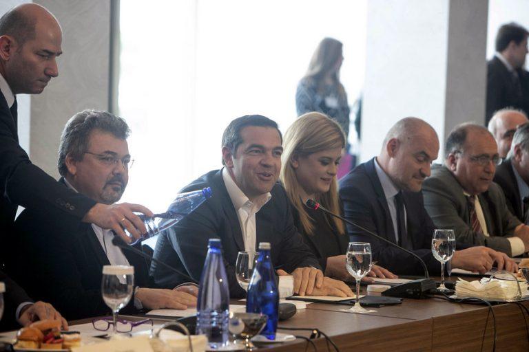 Τι είπε ο Αλέξης Τσίπρας για τη Βόρεια Μακεδονία στους ισχυρότερους επιχειρηματίες της βορείου Ελλάδας