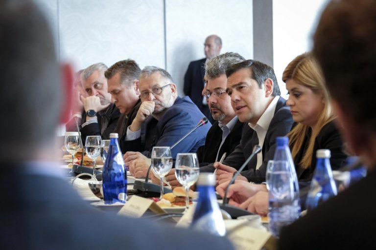 Σε πολύ καλό κλίμα η συνάντηση του Αλέξη Τσίπρα με επιχειρηματίες της Βορείου Ελλάδας