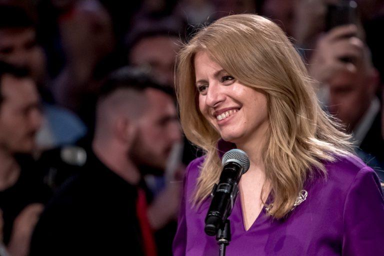 Ζουζάνα Τσαπούτοβα: Η πρώτη γυναίκα που θα αναλάβει την προεδρία της Σλοβακίας