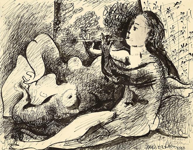 Στο «σφυρί» σπάνιο σκίτσο του Πικάσο