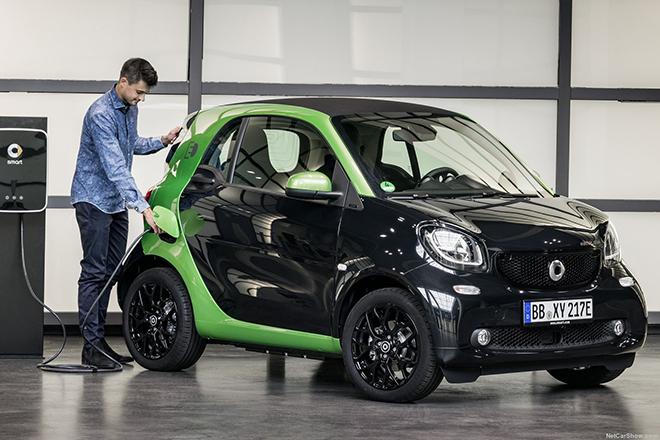 Το Smart γίνεται ηλεκτροκίνητο μέσω… Κίνας