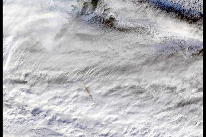 Στη δημοσιότητα οι εντυπωσιακές εικόνες της NASA ενός μετεωρίτη που εξερράγη πάνω από τη Γη