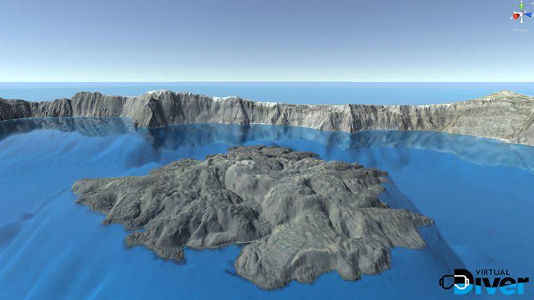 VirtualDIVER: Μία ολοκληρωμένη διαδραστική πλατφόρμα υποθαλάσσιων και επίγειων εικονικών εμπειριών