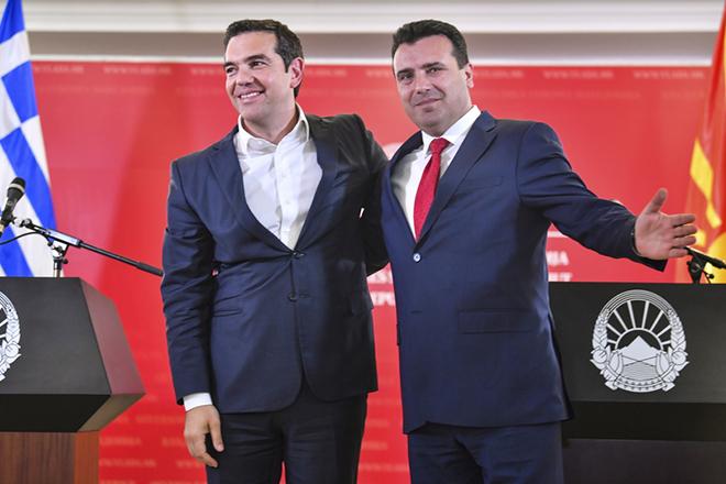 FAZ: «Αθήνα και Σκόπια έχουν σχέδια για το μέλλον»