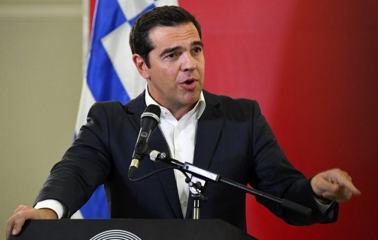 Τσίπρας: Με το επιχειρηματικό φόρουμ Ελλάδας-Βόρειας Μακεδονίας ανοίγουμε τον δρόμο για ένα μέλλον συνανάπτυξης