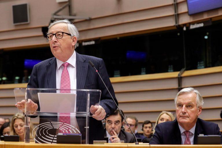 Τελεσίγραφο Γιούνκερ στη Βρετανία: Συμφωνία αποχώρησης ως τις 12 Απριλίου ή καμία άλλη παράταση στο Brexit