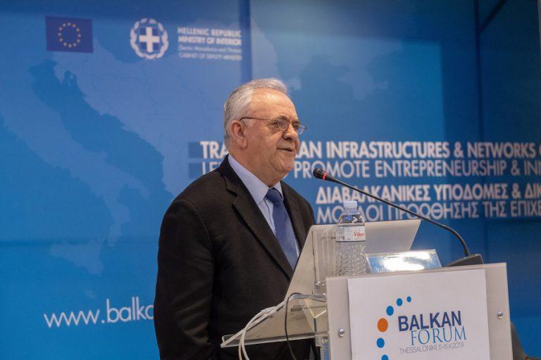 Δραγασάκης: Δεν αποκλείεται η δημιουργία μιας Διαβαλκανικής Αναπτυξιακής Τράπεζας με έδρα τη Θεσσαλονίκη