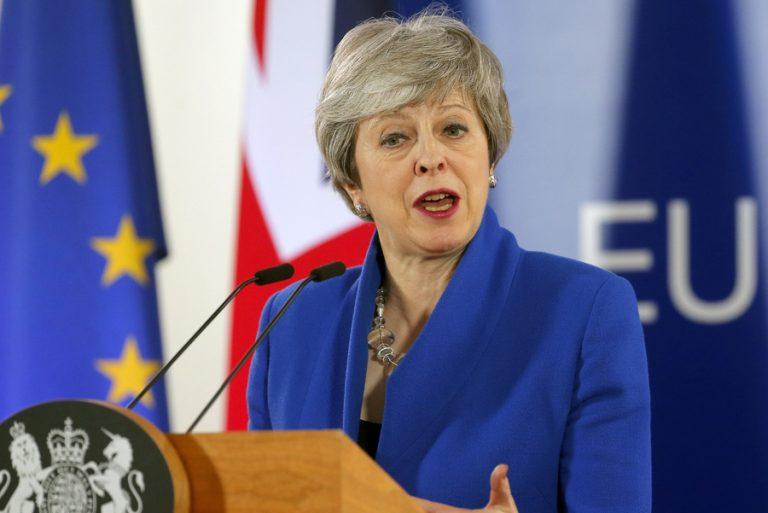 Brexit: Η Τερέζα Μέι καταθέτει νομοσχέδιο για τη συμφωνία αποχώρησης από την ΕΕ