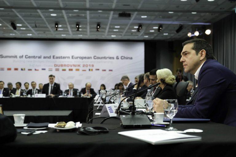 Τσίπρας στη Σύνοδο «16+1»: Η Ελλάδα σήμερα επιβεβαίωσε τον ηγετικό της ρόλο
