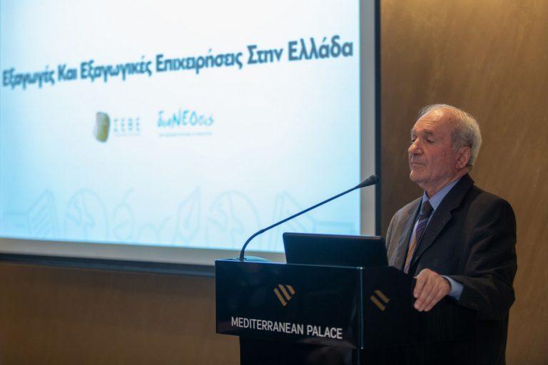 διαΝΕΟσις: Μόλις 100 επιχειρήσεις βρίσκονται πίσω από τις μισές ελληνικές εξαγωγές