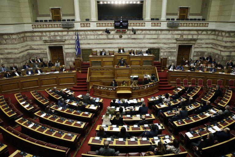 Live: Σε εξέλιξη στη Βουλή η συζήτηση για την παροχή ψήφου εμπιστοσύνης προς την κυβέρνηση