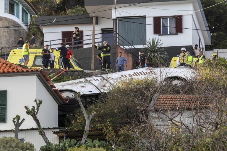 Πορτογαλία: Στους 29 νεκρούς ο απολογισμός του τροχαίου στη Μαδέρα