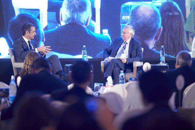 Μητσοτάκης: Στόχος η βραχυπρόθεσμη ανάπτυξη 4% και ο πολλαπλασιασμός των επενδύσεων