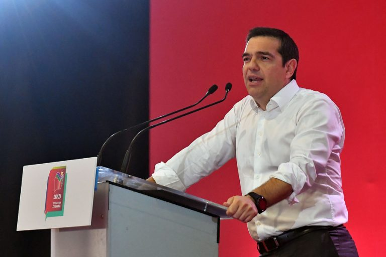 Μετά την παραίτηση της κυβέρνησης, ο Αλέξης Τσίπρας παρουσιάζει το προεκλογικό του πρόγραμμα