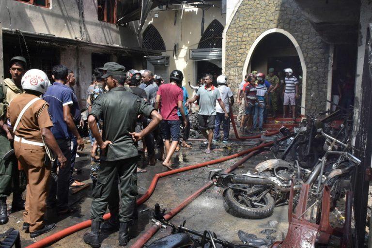 Στους 310 νεκρούς αυξήθηκε ο απολογισμός των θυμάτων στη Σρι Λάνκα