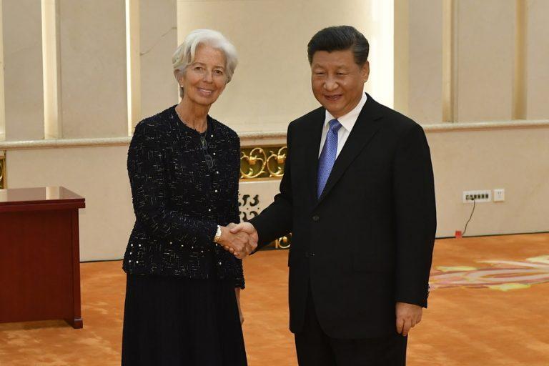 Συνάντηση Σι Τζινπίνγκ με Κριστίν Λαγκάρντ
