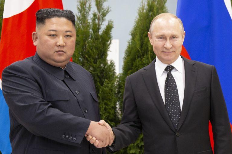 Ιστορική συνάντηση Πούτιν- Κιμ στο Βλαδιβοστόκ