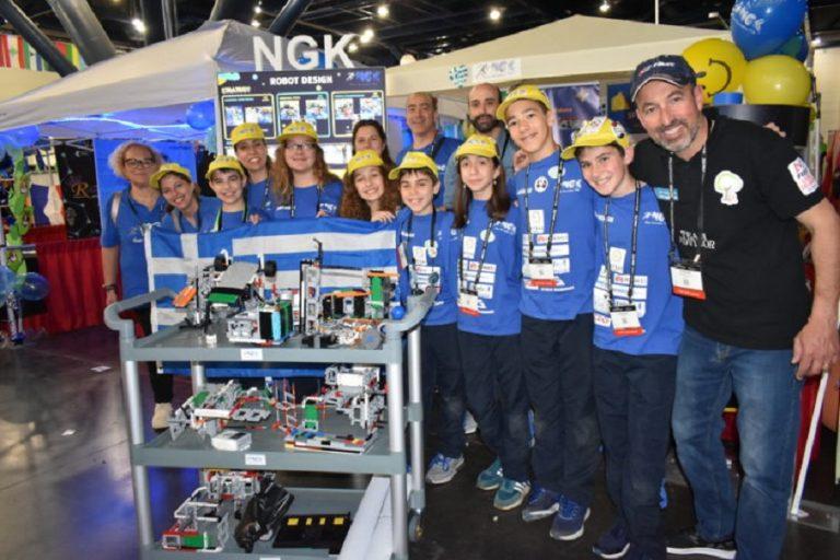Σημαντικές διακρίσεις για δύο ελληνικές ομάδες στον Παγκόσμιο Διαγωνισμό Εκπαιδευτικής Ρομποτικής με Lego