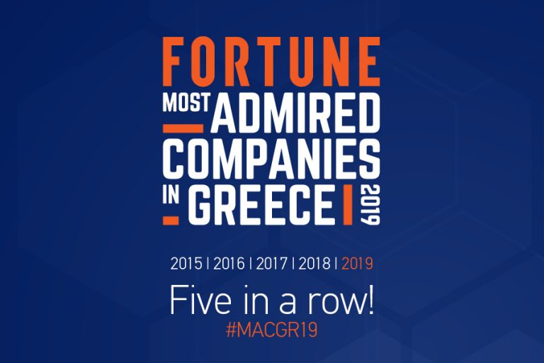 Fortune Greece Most Admired Companies 2019