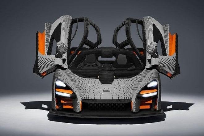 Η πρώτη McLaren Senna από κυβάκια LEGO