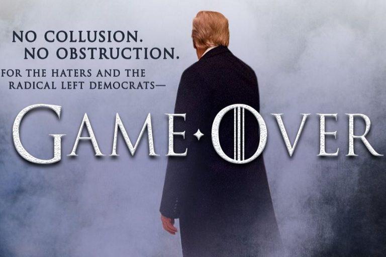 «Game Over»: Πανηγυρίζει ο Τραμπ για το αθωωτικό πόρισμα Μάλερ