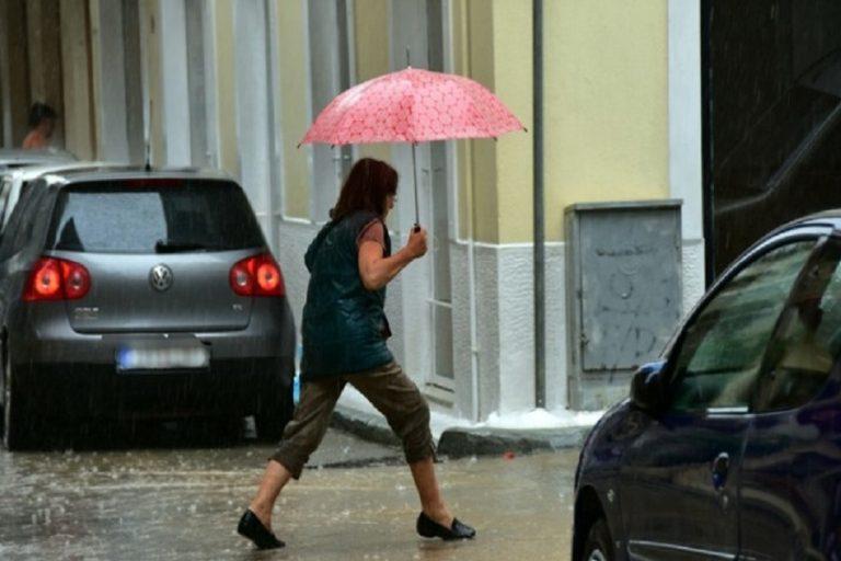 Βροχές και καταιγίδες ο καιρός σήμερα σε όλη τη χώρα