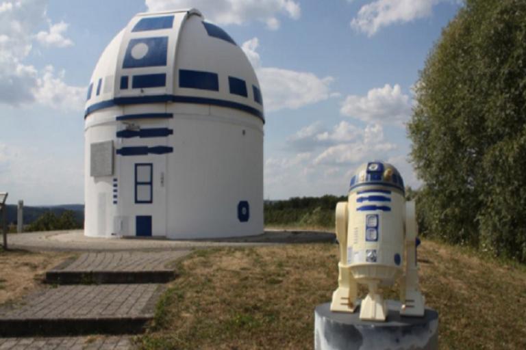Αστεροσκοπείο «μεταμορφώθηκε» στον R2-D2 του «Star Wars»