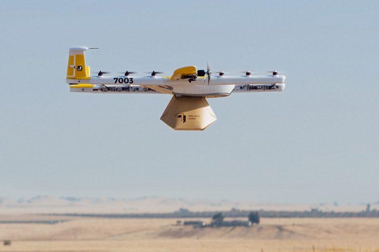 Alphabet: Delivery με drone και στις ΗΠΑ σε λίγους μήνες