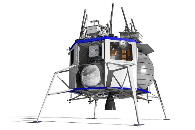 Τζεφ Μπέζος: Η Blue Origin θα στείλει ανθρώπους στη Σελήνη έως το 2024