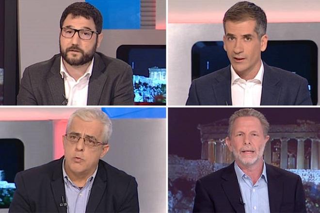 Οι υποψήφιοι δήμαρχοι Αθηναίων στο πρώτο τηλεοπτικό τους debate