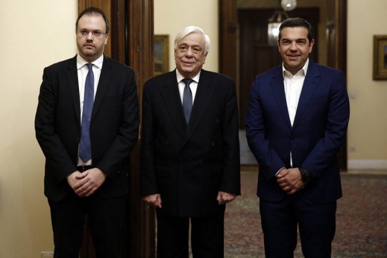Ολοκληρώθηκε η ορκομωσία του Θ. Θεοχαρόπουλου – Τί δηλώνει για την αποδοχή της πρόσκλησης από τον Α. Τσίπρα