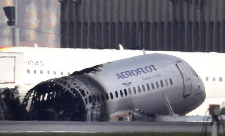 Κεραυνός ίσως να ευθύνεται για την συντριβή του αεροσκάφους στη Μόσχα