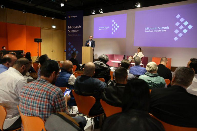 Οι απεριόριστες δυνατότητες της Τεχνητής Νοημοσύνης παρουσιάστηκαν στο 4ο Microsoft Summit