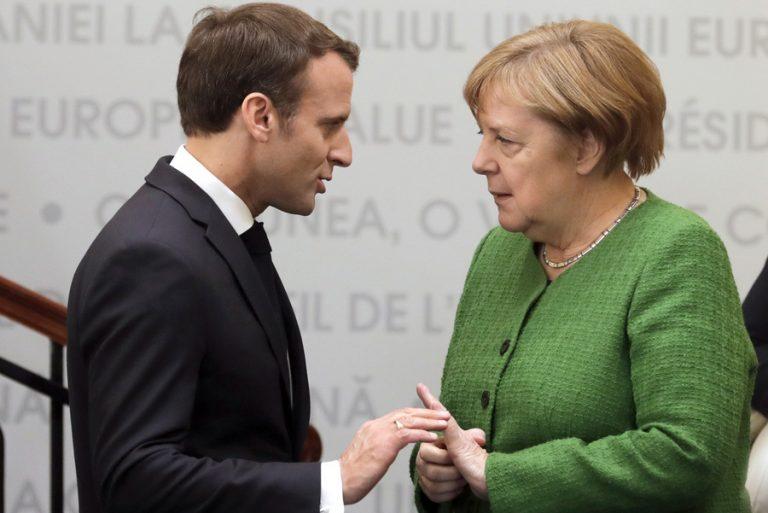 Διάγγελμα «πολέμου» από τον Μακρόν, μέτρα άνευ προηγουμένου από τη Μέρκελ – Τι αποφάσισε η ΕΕ