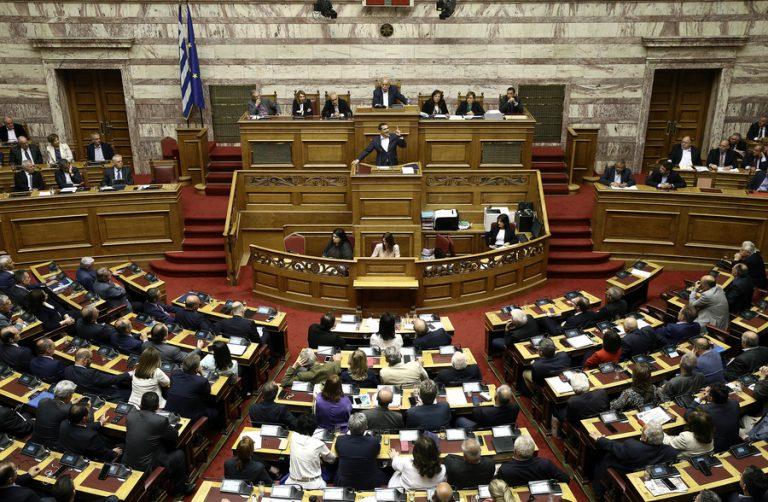 Ψήφος εμπιστοσύνης στην κυβέρνηση από 153 βουλευτές – Στήριξη από τον Γιάννη Σαρίδη της Ένωσης Κεντρώων