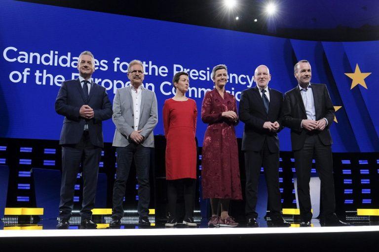 Οι θέσεις των υποψηφίων για την προεδρία της Ευρωπαϊκής Επιτροπής, για τη μετανάστευση, το Brexit και την κλιματική αλλαγή