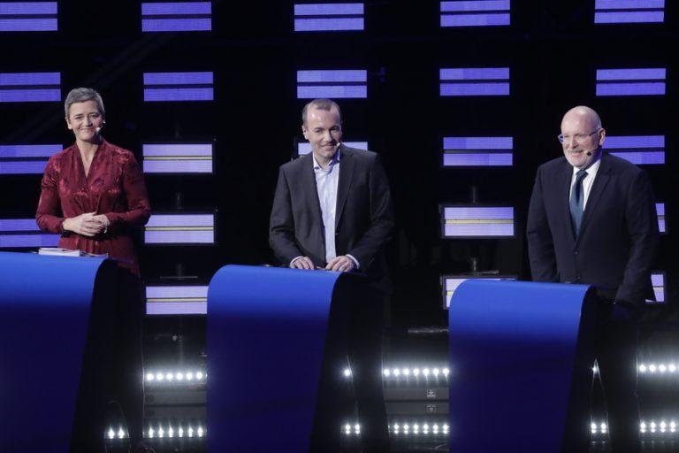 Μετανάστευση, οικονομία και περιβάλλον στο debate για την Κομισιόν