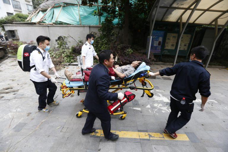 Κατάρρευση κτιρίου στη Σανγκάη με επτά θύματα