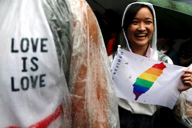 Η Ταϊβάν γίνεται η πρώτη ασιατική χώρα που νομιμοποιεί το γάμο ομοφυλοφίλων