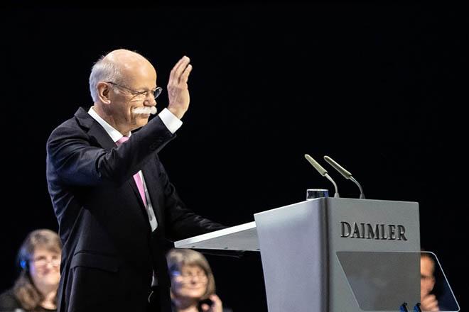 Τέλος εποχής για τον Dieter Zetsche που αφήνει μετά από 13 χρόνια το τιμόνι της Daimler