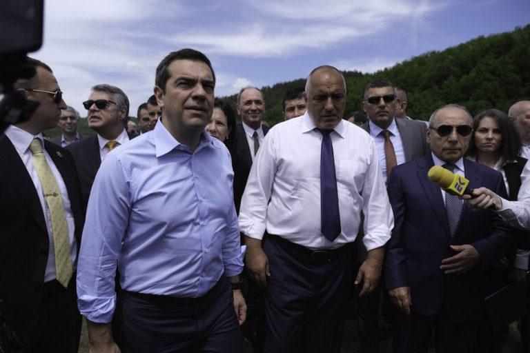 Εγκαίνια για τον ελληνο-βουλγαρικό αγωγό φυσικού αερίου παρουσία Τσίπρα και Μπορίσοφ