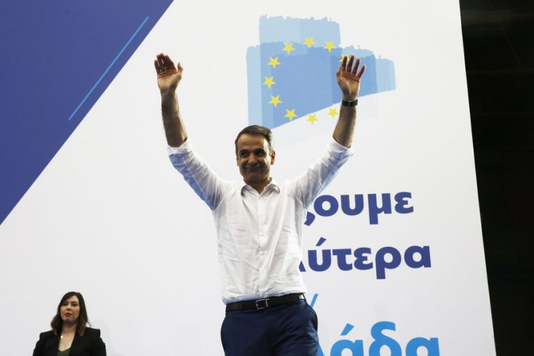 Κυριάκος Μητσοτάκης στη Θεσσαλονίκη: Την Κυριακή θα γράψουμε ιστορία (Βίντεο)