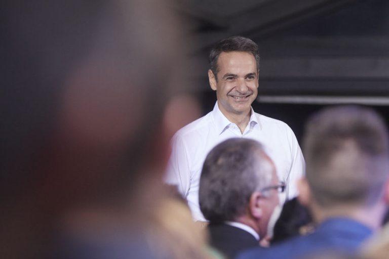 Κυριάκος Μητσοτάκης στη Φλώρινα: «Να μην χαθεί καμία ψήφος» (Βίντεο)