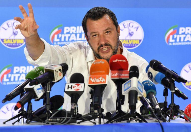 Ο Ματέο Σαλβίνι πιέζει για εκλογές το ταχύτερο δυνατό