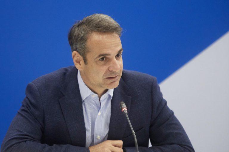 Μητσοτάκης: Καταβάλλουμε κάθε δυνατή προσπάθεια για αποκατάσταση των ζημιών στη Χαλκιδική