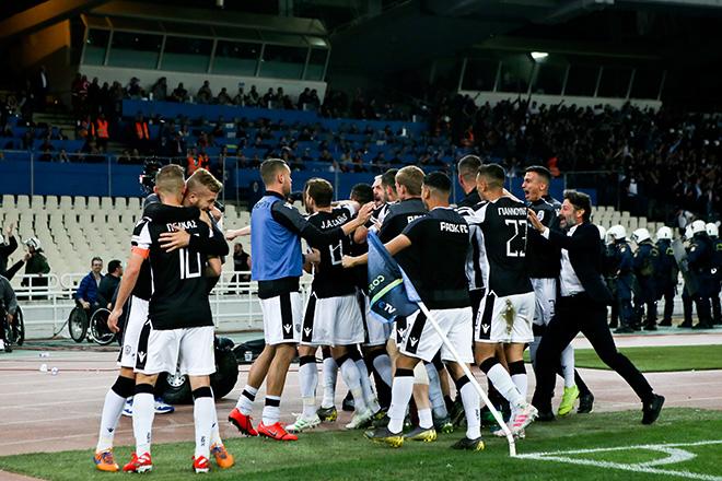 Έκανε το νταμπλ ο ΠΑΟΚ επικρατώντας της ΑΕΚ με 1-0 στον τελικό Κυπέλλου Ελλάδας
