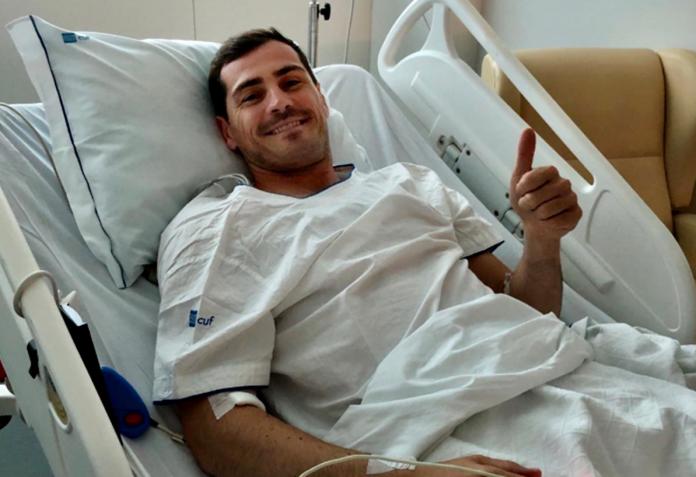 Iker Casillas: Η πρώτη φωτογραφία από το νοσοκομείο μετά το έμφραγμα και η δήλωση καρδιολόγου