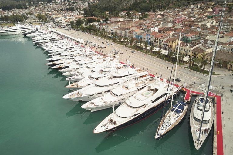Σε εξέλιξη το 6ο Mediterranean Yacht Show στο Ναύπλιο